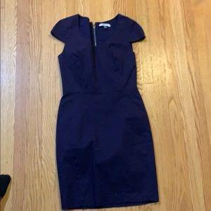 Women's blue dress